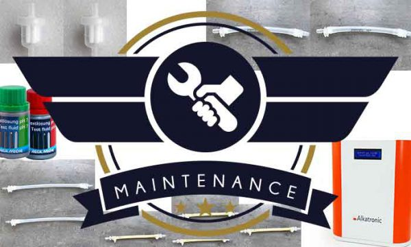Alkatronic maintenance set