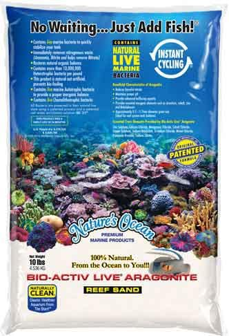 Natures Ocean BioActiv Live Sand white 0,1-0,5mm