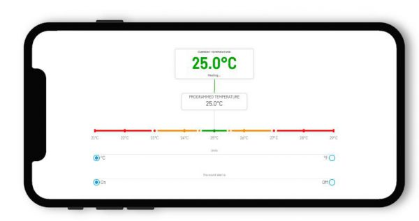 Reef Factory Thermo Control app