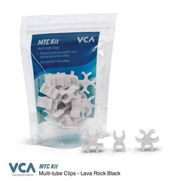 VCA Multi Tube clips Seafoam White