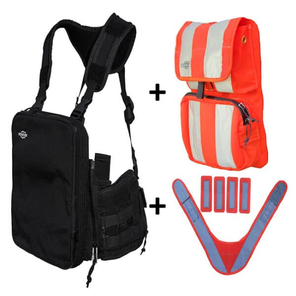 tablet ex gear ruxton High Visibility Chest pack package